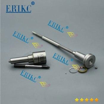 ERIKC 0445120297 Kits de révision de réparation d'injecteur à rampe commune avec buse DLLA145P2270 pour CUMMINS 5264272 2P0130201A