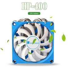 Jonsbo HP 400 מעבד קירור מאוורר 4 צינורות חום רדיאטור HTPC מקרה כל ב אחד מחשב דק במיוחד מעבד קריר