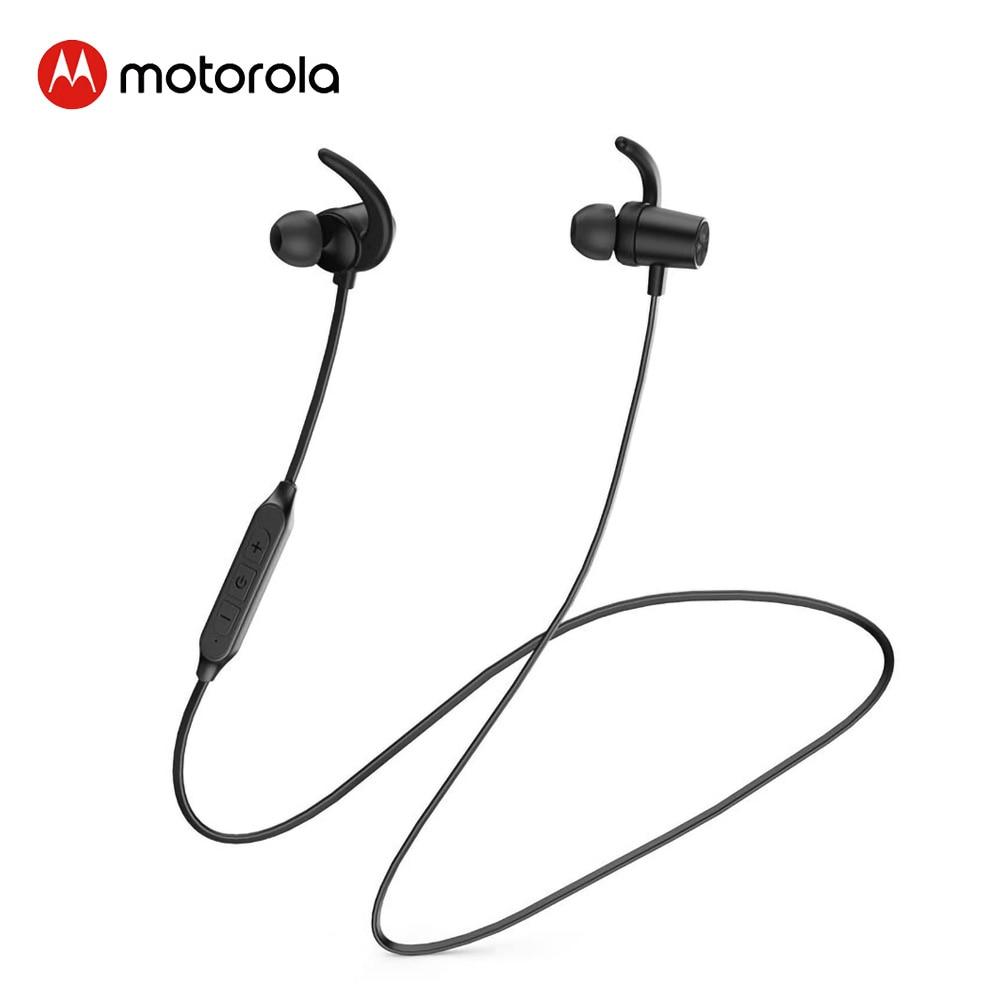 Motorola Headphone Neck-mounted BT5.0 Earphone Sports Waterproof Headset support Voice Command Alexa, Siri, Google Assistant(China)