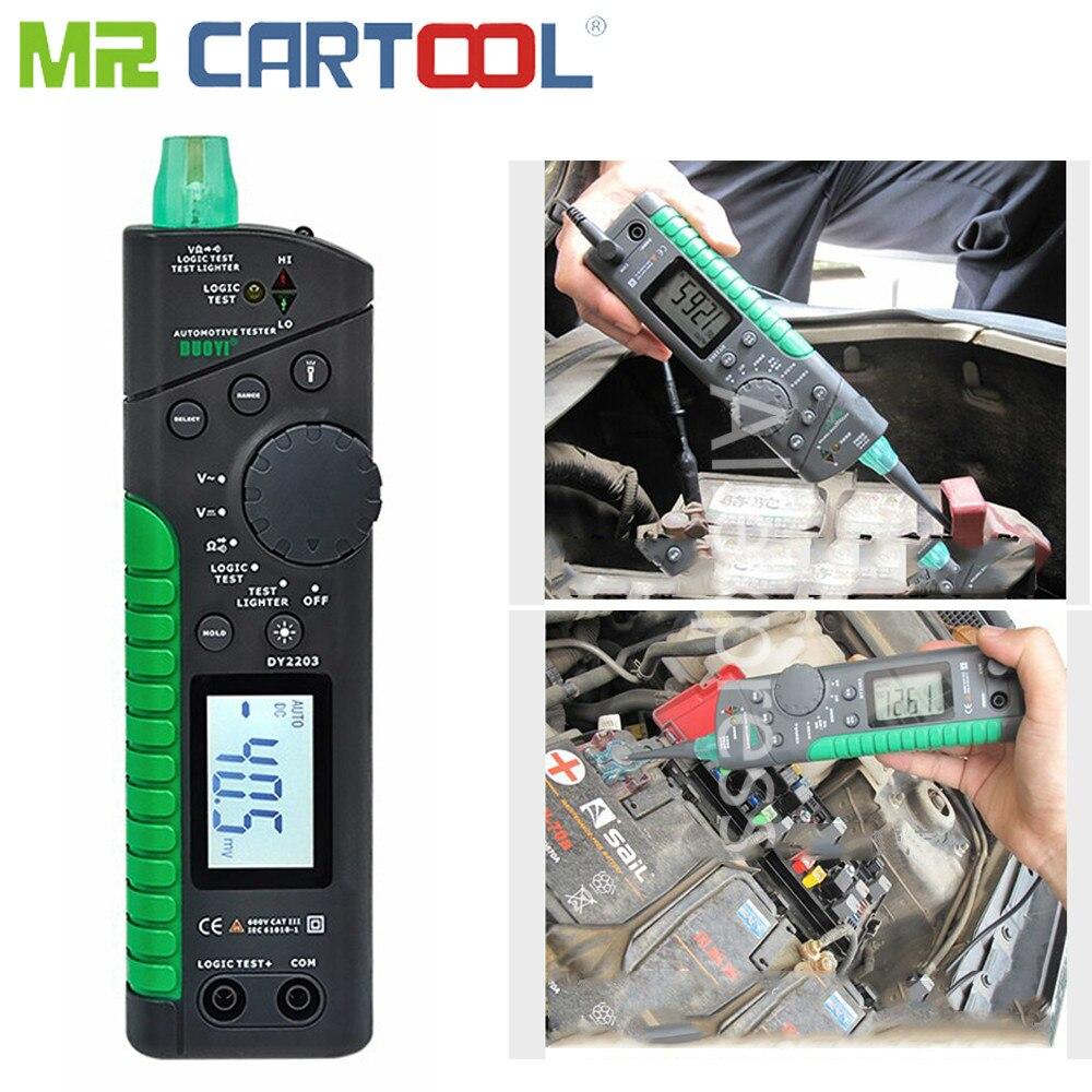 HOT SALE] Auto Circuit Car AC/DC Tester Multimeter lamp LED