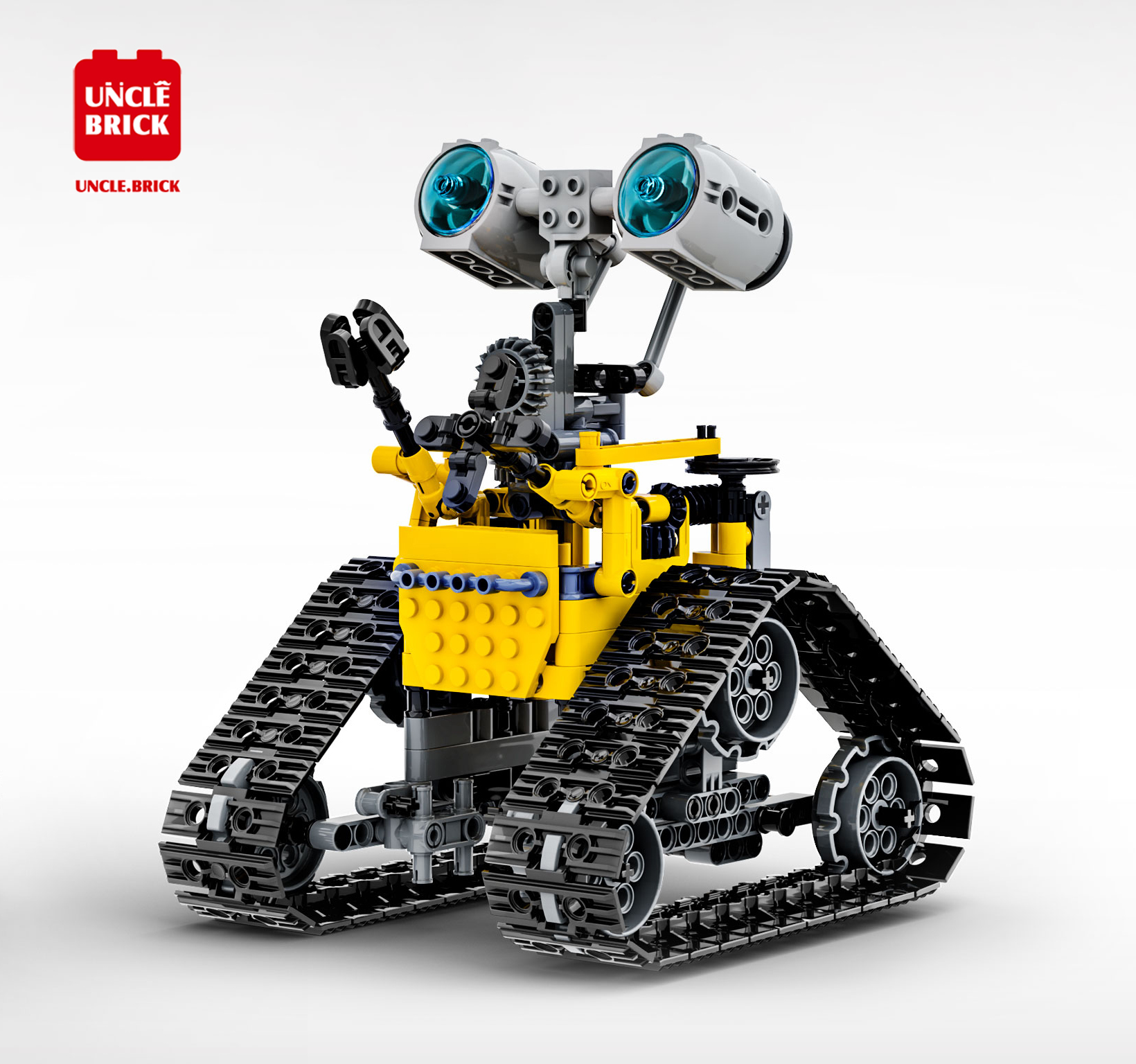 In Stock Technical  Remote Control Electric Programming Robot Building Blocks Model Assemble Bricks Kids Toy Car Gifts 1