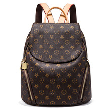 2019 New Style Backpack Womens Casual Versatile Fashion Printed Simple Hand Shoulder Travel Bag