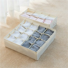 Oxford cloth underwear storage box drawer without cover format