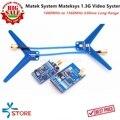 40 км дальность matek System Mateksys VRX-1G3 VTX-1G3 1 3 ГГц FPV 2CH-9CH 630 мВт Передатчик Видео см ширина ремешка видео приемник