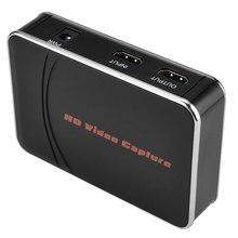 EZCAP280HB przechwytywanie wideo HDMI, konwersja wideo HDMI na HDMI z mikrofonem na dysk Flash USB bez komputera, koder h.264. 1080P30FPS