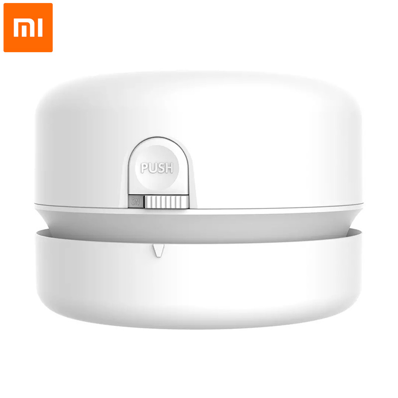 Xiaomi NUSIGN Desk Set Vacuum Cleaner Desktop Wireless Auto Mini Portable Cordless Dust Sweeper For School Classroom Home Office