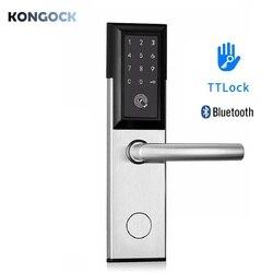 Bluetooth TTlock keyless zamek hotelowy  elektroniczne cyfrowe hasło i dostęp do kluczy dla domu  hotelu i mieszkania airbnb itp