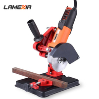 LAMEZIA Electrical Angle Grinder Drill Stand Fixed Multifunctional Bracket Holder Cutting Machine Hand Power Tool Part Accessory