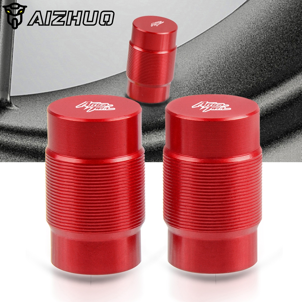 Motorcycle Accessorie CNC Aluminum Wheel Tire Valve Stem Caps Airtight Covers For HONDA Africa Twin CRF1000/L XRV 750 L-Y