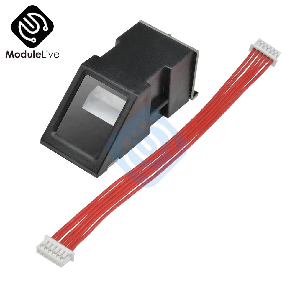 DY50 Fingerprint Reader Sensor Module FPM10A Optical Fingerprint Module For Arduino Locks Serial Communication Interface Tools