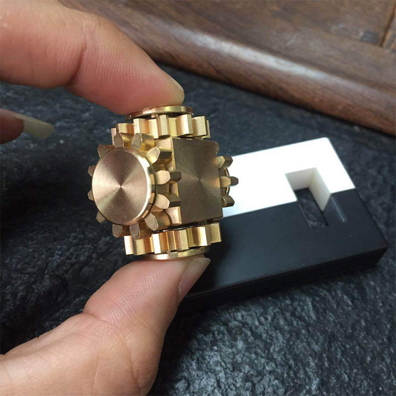 Decompression Toy Linkage-Cube Stress Gyro-Gear Relief-Toy Mechanical-Gyroscope Pure img1