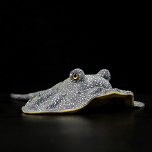 50cm Length Lifelike Honeycomb Stingray Plush Toy Real Life Soft Real Life Ray Fish Realistic Sea Animals Stuffed Toys For Kids