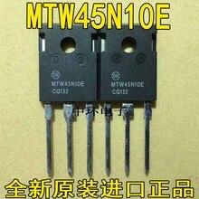 10 шт./лот MTW45N10E 45N10 45A100V TO-247