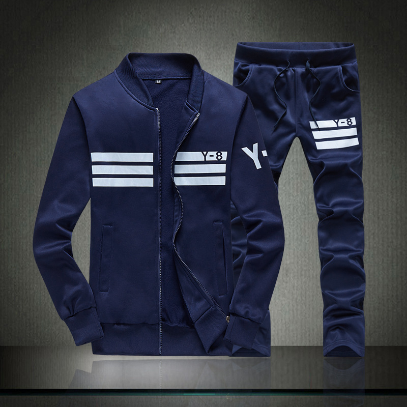 Men's Hoodie Set Spring Summer Sports Clothing Set Korean-style Trend Popular Brand Coat Men's Casual Sports Set Men's Summer