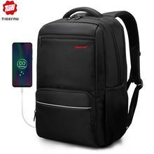 Tigernu брендовый Противоугонный мужской деловой рюкзак для ноутбука 15,6 дюйма с usb зарядкой, мужской водонепроницаемый рюкзак Mochila, школьная сумка для подростков