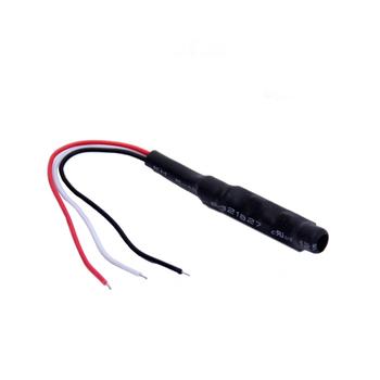 5 sztuk partia Monitor dźwięku Audio Pickup bezpieczeństwa słuchanie kamery CCTV mikrofon kamery Audio tanie i dobre opinie BESDER C072401 10~50 Square meters DC Cable DC9-14V 15mA