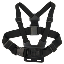 Caméra daction accessoires ceinture pectorale pour Go pro Hero7 6 5 4 SJ4000 Yi 4K DJI OSMO H9R SonyX300 NikonKeyMission 170 fuji filmxp80