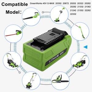 Substituição para GreenWorks 29472 29462G-MAX, Se Encaixa Ferramentas GMAX GreenWorks 20302 20672 24252 20202 22262 20322 25312 25302 25322