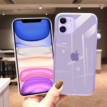 Silicone Phone Case For iPhone 7 XR 11 P