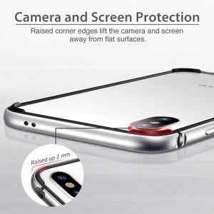 Image 5 - ESR korona metalowa obudowa zderzaka dla iPhone XR XS XS Max metalowa rama zbroja z miękkim wewnętrznym zderzakiem dla iPhone luksusowa osłona przeciwstukowa
