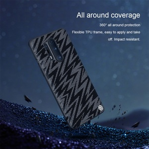 Image 3 - For OnePlus 8 Pro Case OnePlus 8 Cover NILLKIN Twinkle Case Polyester Mesh Reflective Protector Back Cover for One Plus 8 Pro