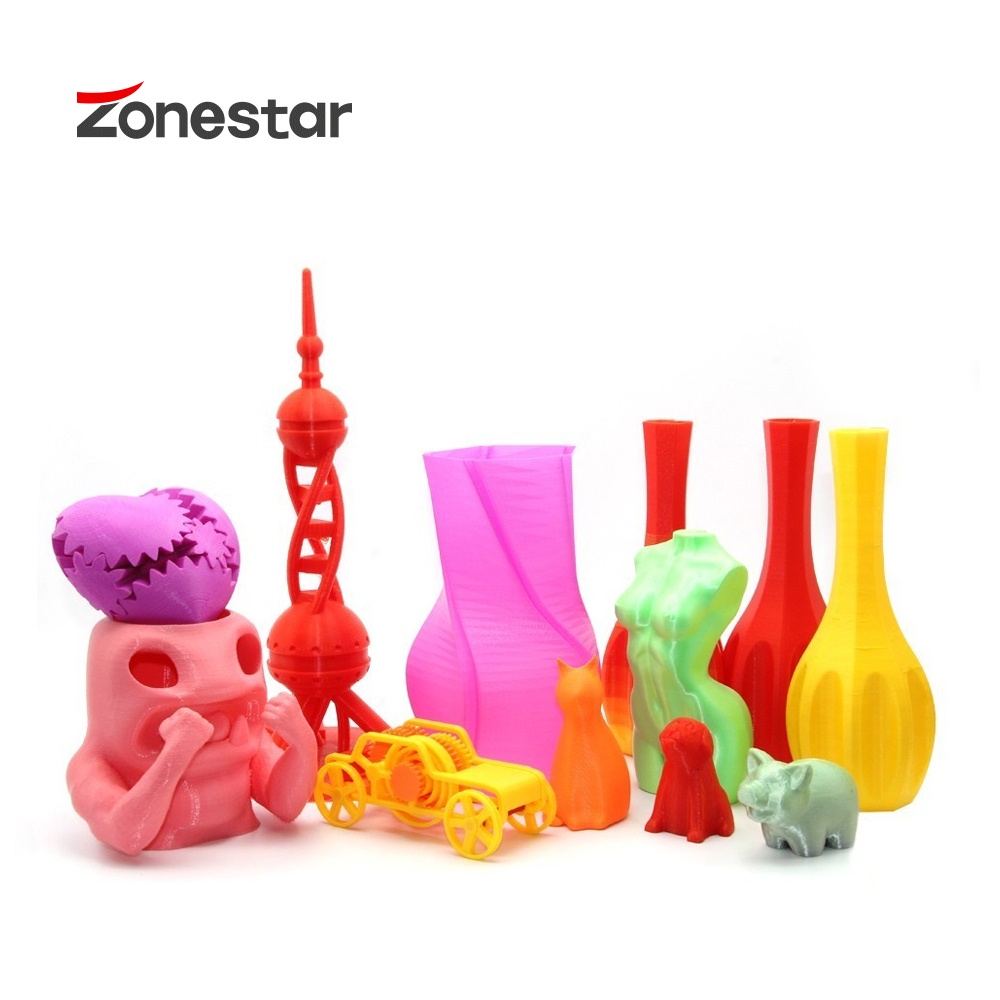 ZONESTAR Z6 bolsillo 3D impresora Mini impresora completa de Metal de aluminio rápido instalar 3d Kit de impresora envío gratis barato 3d impresoras precio - 5
