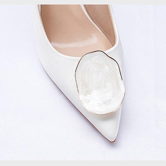 Свадебные  женские туфли на высоком каблуке 6