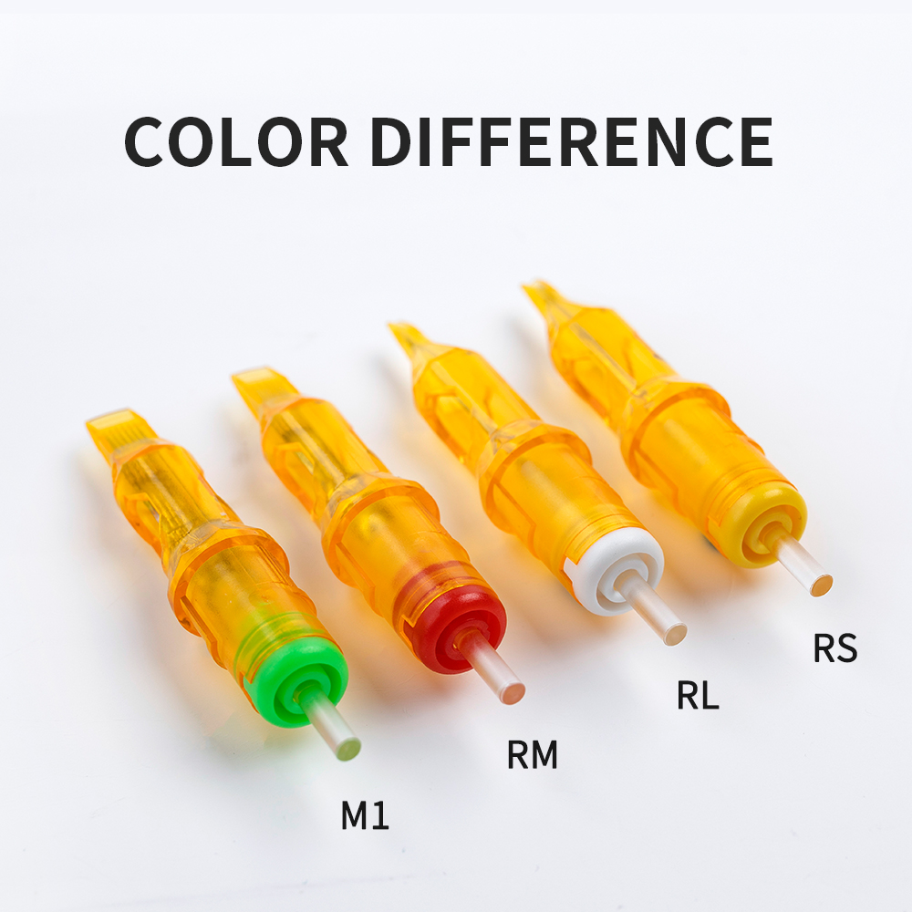 Tattoo Cartridge Needles - Yilong MIX 50pcs Disposable Tattoo Needles Cartridges Round Liner Shader Magnum Assorted Size Tattoo