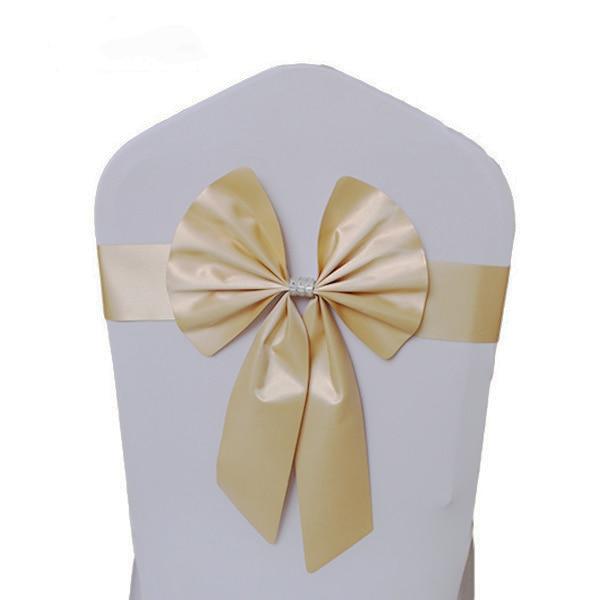 Noeud de Chaise Mariage Sashes узел бант на свадебный стул галстук украшение Stuhl Schleifen Hochzeit ssarfa Fajin Stoel Sjerp - Цвет: 010