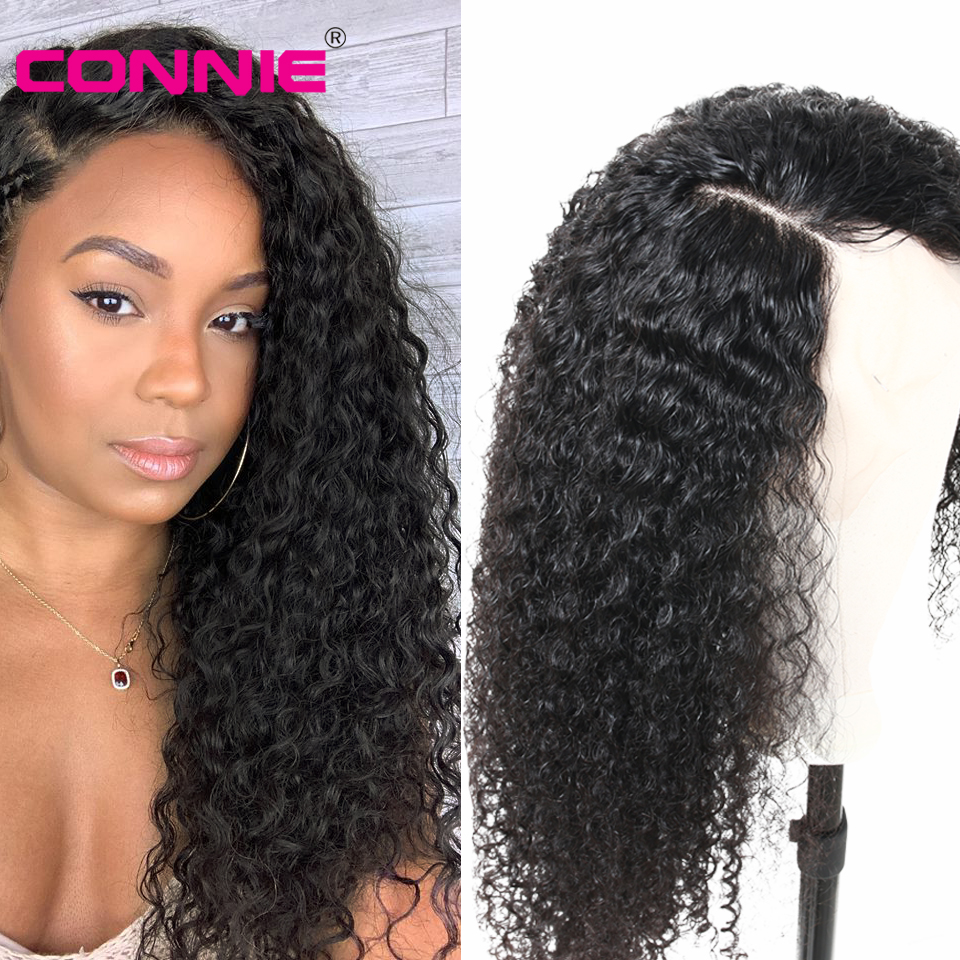 Connie Curly 13X4 Lace Front Middle Ratio 10