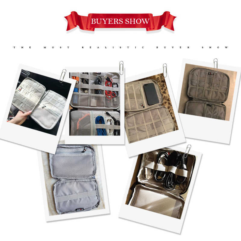 Travel Organizer Grad Gift Cord Organizer Travel Case Thunderbird Fabric Travel Case Tablet Charger Cord Storage Roll Earbud Case