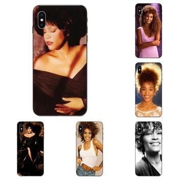 For Galaxy A10S A20S A2 Core A30S A40S A50S A70S A90 5G M10 M30S M40 Note 10 Plus Phone Case Retail Whitney Houston Star Luxury image