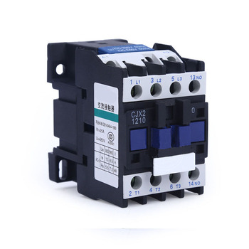 цена на CJX2 0910 1210 1810 AC Contactor 220V 380V 3 Phase 3 Pole 1 NO Coil Voltage 50/60HZ DIN Rail Mounting 3P+1NO Normally Open