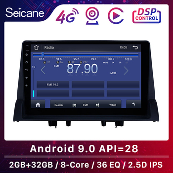 Seicane Android 9.1 2GB RAM Car GPS Navigation Radio Auto Stereo Unit Player For 2002 2003 2004 2005-2008 Old Mazda 6 Quad-core image