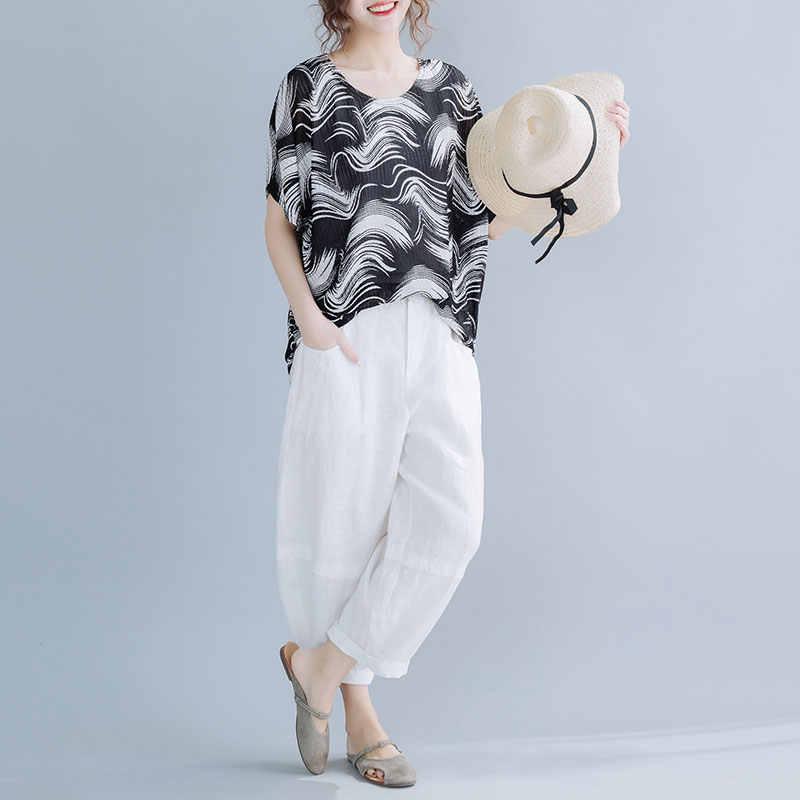 DIMANAF été grande taille T-Shirt femmes vêtements décontracté en vrac Vintage femme montre de sport chemises Vintage impression surdimensionné tunique 2020