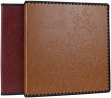 Retro Luxury 160 Holds Self Stick Page Photo Album Book Family Wedding Album PU Leather Cover Holds 3x5 4x6 5x7 6x8 8x10 Photos