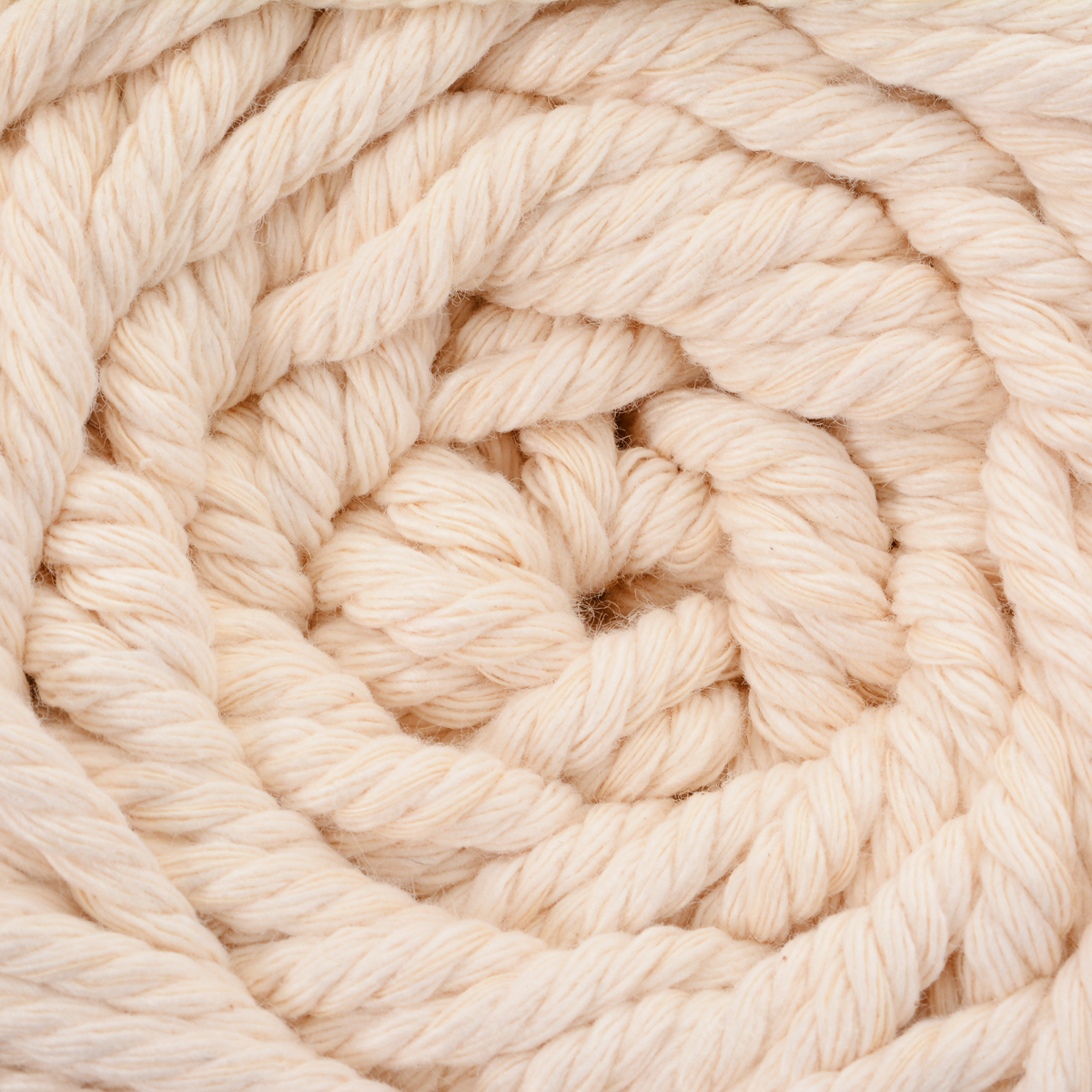 Durable 4mm Cotton Macrame Rope Natural Beige Twisted Cord Artisan Cord Rope DIY Hand Craft knitting Textile Supplies 4mmx100m