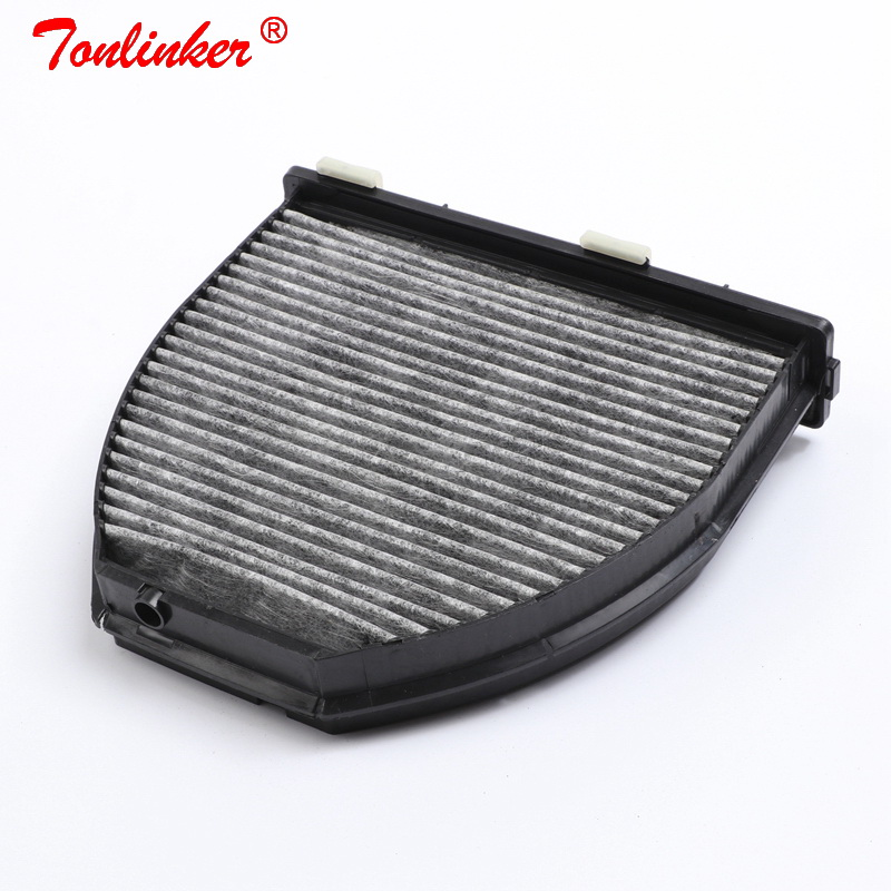 Image 3 - Cabin Filter A2128300038 1 Pcs For Mercedes Benz C218 X218 CLS 220 250 350 400 500 63AMG 2010 2019 Model Built in Carbon Filter-in Cabin Filter from Automobiles & Motorcycles