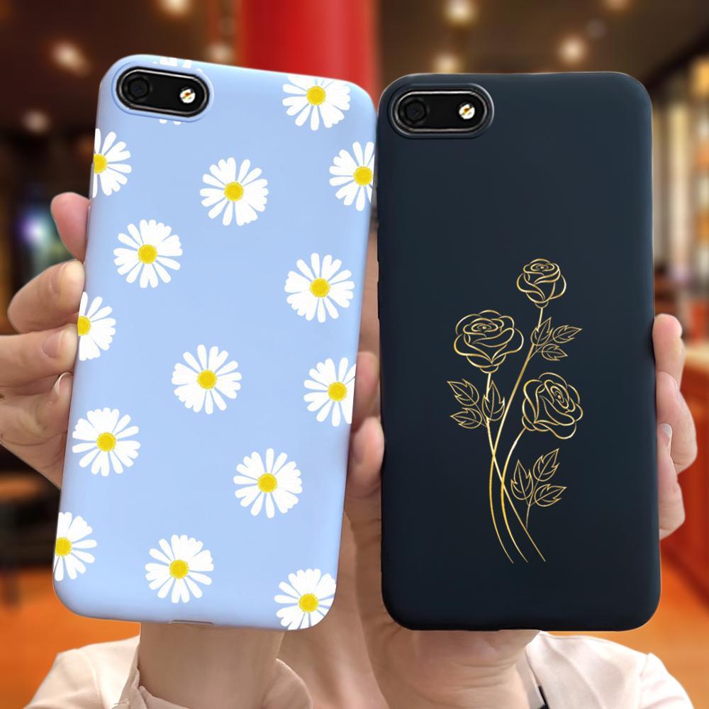 Для Huawei Y5 Lite 2018 чехол Y5 2018 DRA-LX5 Дейзи с принтом подсолнуха для девочек узор яркий силиконовый чехол на заднюю панель для Huawei Y5 Prime 2018