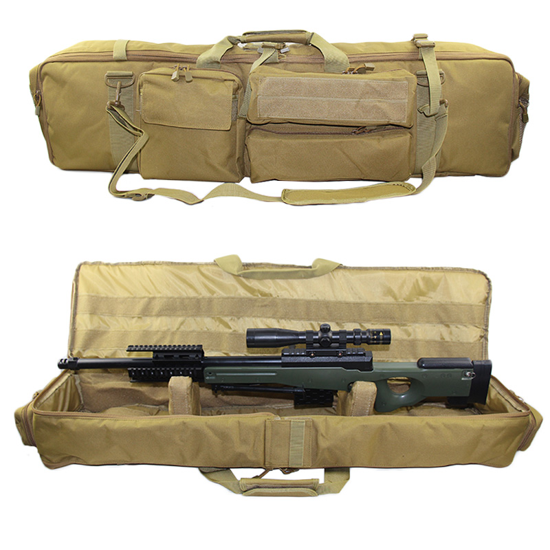 Tactical Military M249 Gun Bag Airsoft Rifle Backpack Outdoor Hunting Shooting Gun Carrying Protection Case With Shoulder Strap