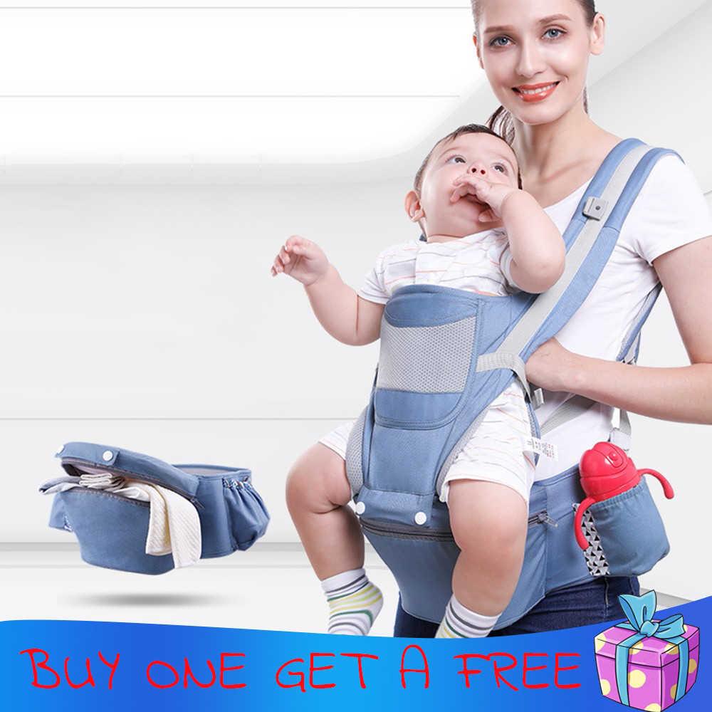 0-48 M noside ko dla dziecka ergonomiczne nosidełko dla dzieci niemowlę dziecko Hipseat przewoźnika z przodu ergonomiczne kangur otulaczek Sling dla dziecka podróży
