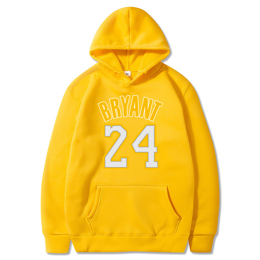 New Fashion Kobe Bryant 24 Men Sportswear Print Men Hoodies Pullover Hip Hop Mens Tracksuit Sweatshirts Clothing