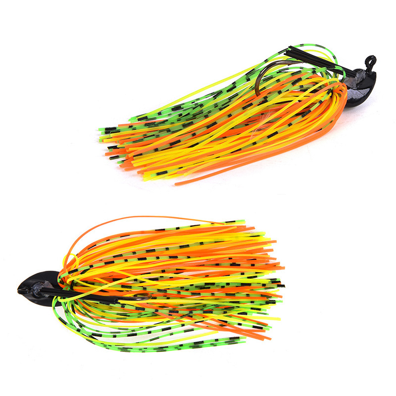 1Pcs 7g 10g 14g Finesse Chatter bait spinnerbait fishing lure Buzzbait wobbler chatterbait for bass pike walleye fishing tackle-3