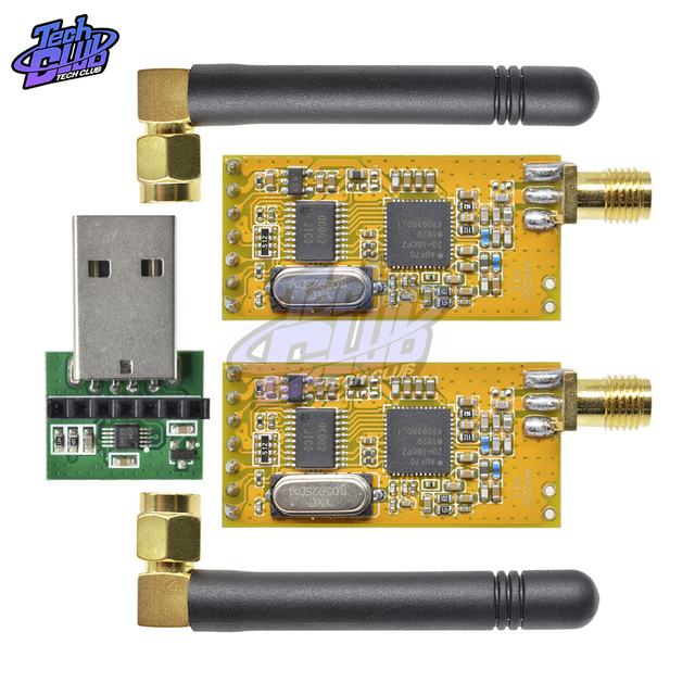 APC220 אלחוטי RF סידורי נתונים לוח מודול אלחוטי נתונים תקשורת עם אנטנות USB ממיר מתאם עבור Arduino DIY קיט