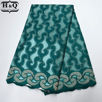 African Dry Lace Fabric 100% Cotton 2020 High Quality Swiss Voile Lace In Switzerland 5 Yards For Party B977791-80C