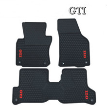 цена на Special Rubber Car Floor Mats for Volkswagen Golf 5 6 7 5 GTI 6GTI 7GTI Right Hand Drive RHD No Odor Waterproof Carpets