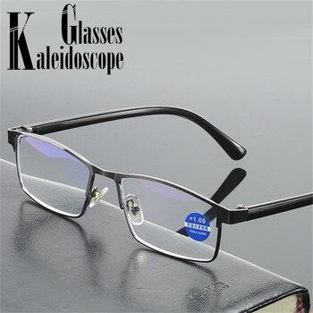 Gafas de lectura Anti Blue Light para hombre, gafas de presbicia antifatiga para mujer, gafas de lectura con lector de lentes, dioptrías Para Ordenador + 1,0 2,0 2,5 3,0 3,5