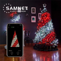 2020 Smart LED Christmas APP Control String Lighting For Holiday Light Decoration New Year Tree Outdoor Lamps Waterproof IP66