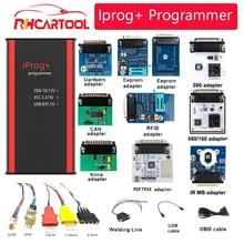 iPROG+ Iprog Pro Programmer V85 Support NEW Year 3in1 IMMO + Mileage Correction + Airbag Reset PK digiprog tango carprog ELM327