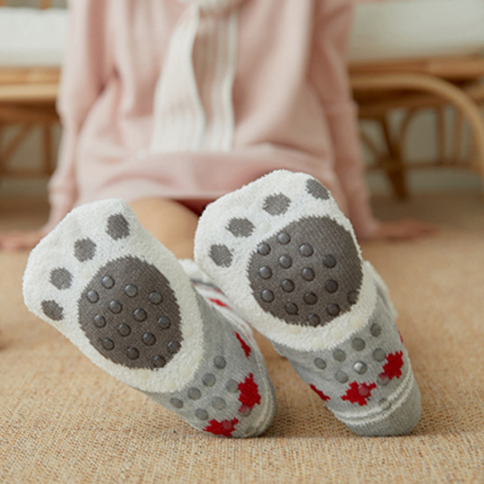Nova mulher extra-quente velo meias interior pés